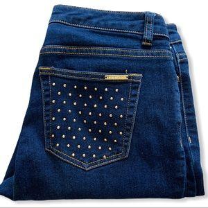 Michael Kors Gold Stud Jeans